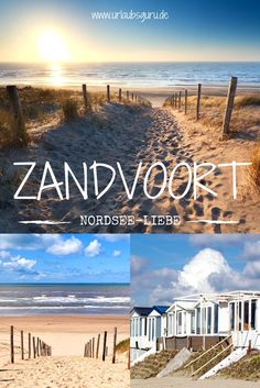 Zandvoort - Urlaub am Meer nahe Amsterdam Do you really want to go to the sea? Zandvoort is located in our beautiful neighboring country, the Netherlands, and has a great beach waiting for you! Tour En Amsterdam, Amsterdam Holidays, Amsterdam Travel, Destinations D'europe, Holiday Destinations, Koh Lanta Thailand, Bangkok Thailand, Thailand Travel, Garden Art