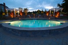 Pool finishes can determine your pools overall look. Pool Finishes, 2017 Photos, Landscape Design, Swimming Pools, Insight, Building, Outdoor Decor, Bathroom, Swiming Pool