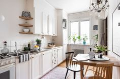 Tiny but creative Scandinavian apartment - Daily Dream Decor