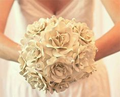 These paper bouquets are a good option too!