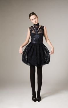 josep font black dress