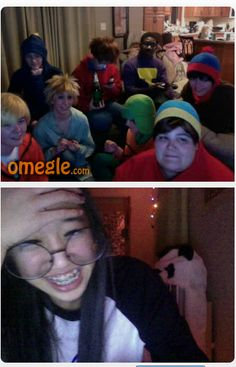 This group of South Park people on omegle were perfect I couldn't stop laughing South Park Funny, South Park Memes, South Park Anime, South Park Fanart, Omegle Funny, South Park Cosplay, Kevedd, Tweek South Park, Rawr Xd