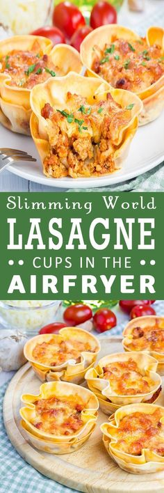 Welcome to my Slimming World Lasagne Cups In The Airfryer. A delicious use of your leftover Bolognese, cheese and broken lasagne sheets. Slimming World Lasagne, Appetizer Recipes, Dinner Recipes, Dinner Ideas, Lunch Ideas, Appetizers, Actifry Recipes, Tailgating Recipes, Dessert