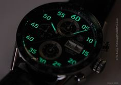 TAG Heuer Carrera Calibre 16 Singapore Limited Edition (Lume Shot)