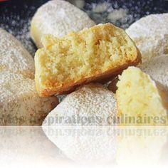 Sablés à la vanille & amandes extra fondants (Vanille Kipferl de Christophe Felder)