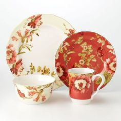 English Rose pattern by 222 Fifth LOVE this!! | tea for two ...