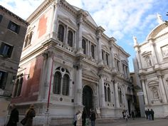 Scuola di San Rocco - Venice, Italy - Façade by Scarpagnino