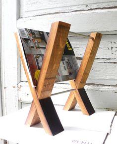 french oak magazine holder