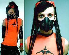 rivethead Rivethead, Punk Goth, Cyberpunk, Halloween Face Makeup, Industrial, Google, Fashion, Moda, Fashion Styles