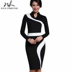 New Product: Nice-forever Vint... . You can Get it here: http://www.iramstore.in/products/nice-forever-vintage-patchwork-stylish-elegant-casual-work-short-sleeve-v-neck-bodycon-women-office-pencil-slim-dress-b320?utm_campaign=social_autopilot&utm_source=pin&utm_medium=pin