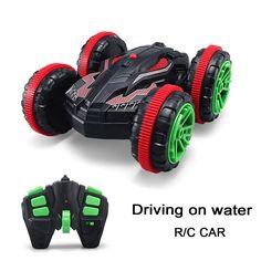 1:18 Nitro Rc Stunt Auto Off road Buggy 2,4G 4wd Rc Drift auto Kann Auf Wasser Elektrische Fernbedienung Spielzeug Modell Für Kinder