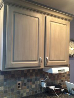 thermofoil kitchen cabinets in annie sloan french linen the big reveal farm