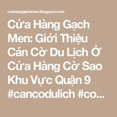 Cửa Hàng Gạch Men: Giới Thiệu Cán Cờ Du Lịch Ở Cửa Hàng Cờ Sao Khu Vực Quận 9 #cancodulich #codulich #cancoinox