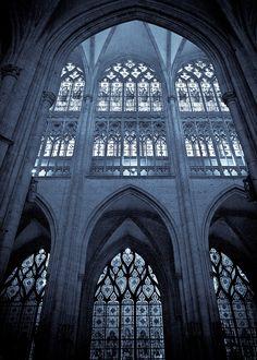 """Cathédrale Notre-Dame de Rouen. Rouen has been dubbed the """"City of a Hundred Spires""""."""