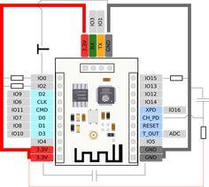 arduino esp radio schaltplan anschluss des esp8266 wemos. Black Bedroom Furniture Sets. Home Design Ideas