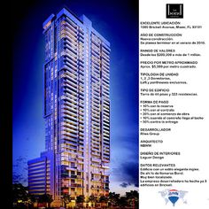 Oferta de Pre venta del edificio Bond del arquitecto NBWW y con diseño de interiores por Loguer Design.