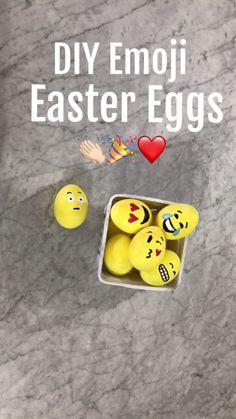 Emoji Easter Eggs