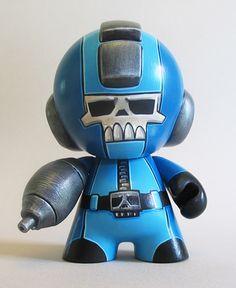 Mega Man 1 by grimsheep, via Flickr