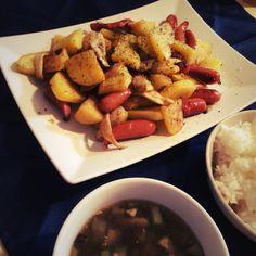 consommé potato & sausage