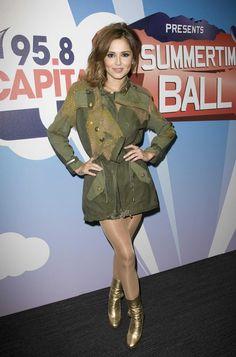Cheryl Tweedy (a. Cheryl Cole) in pantyhose Girls Aloud, Cheryl Cole, In Pantyhose, Hosiery, Military Jacket, Dancer, Stockings, Beautiful Women, Celebrities