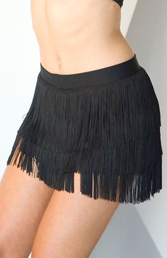 DSI Fringe Hot Pants 3345