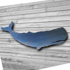 Whale Decor, Nautical Wall Decor, Wooden Wall Design, Wooden Wall Art, Metal Tree Wall Art, Hanging Wall Art, New England Decor, Whale Art, Wooden Fish