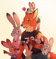 Judy x nick family