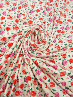 Jersey Knit Fabric | Knit Fabric | Fabric Mart Fabrics | Rayon Knit | Printed Knit Fabric