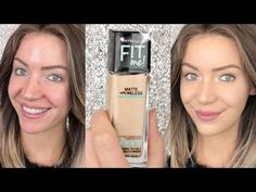 First Impressions | Maybelline FIT ME! Matte and Poreless Foundation - YouTube