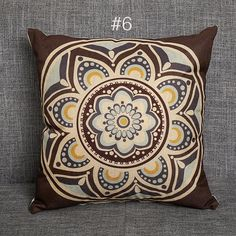 """5 Set of Vintage Kilim Pillow 18/"""" Hand Woven Jute Rug Cushion Cover Rustic S5-32"""