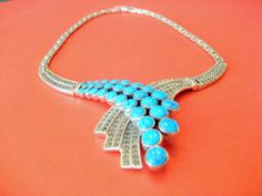 ON SALESterling Silver Deco Style by sparklinglotusdesign on Etsy