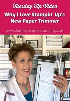 Paper crafting begins with a beautiful first cut, which means having the right tool for the job is key. Catch this complete guide to the new paper trimmer. Card Making Supplies, Card Making Tutorials, Card Making Techniques, Paper News, Paper Paper, Cut Paper, Envelope Maker, Paper Trimmer, Small Cafe Design