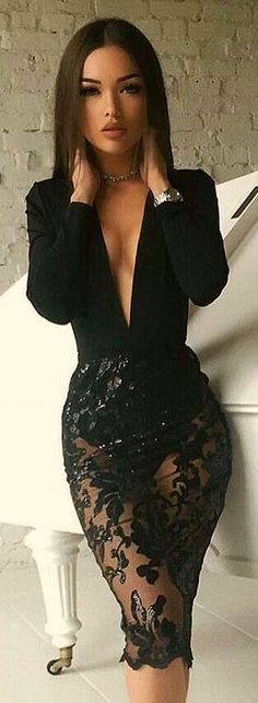 😎 thg ladies night outfit, date night outfit classy, classy sexy dress, cl Sexy Dresses, Cute Dresses, Beautiful Dresses, Cute Outfits, Fitted Dresses, Classy Sexy Outfits, Classy Sexy Dress, Sexy Night Dress, Beautiful Women