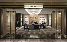 The Chanel boutique at Shoe Heaven Harrods