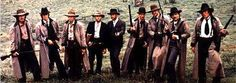 Several sets of well-armed brothers in The Long Riders:  three Carradines (the Youngers), two Guests (the Fords), two Quaids (the Millers) and two Keaches (Frank and Jesse James).