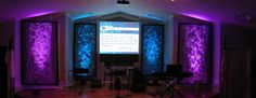 Removable Texture | Church Stage Design Ideas