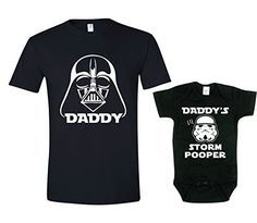 Dads Storm Pooper Dad Son Matching Tee Star Wars Inspired Shirt Mens Lg 03m *** To view further for this item, visit the image link. (This is an affiliate link) #StarWarsClothing
