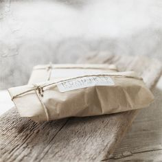 cute brown paper packaging with string