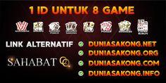 Selamat Datang Di SahabatQQ Hanya 1 User Id Bisa memainkan 8 Jenis Permainan. Link: Duniasakong,com Duniasakong,net Poker Online, Asia, Website
