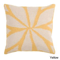 @Overstock - This unique throw pillow is the perfect finishing touch to your decor. The unique colors and texture of this pillow will add style and sophistication to your room.http://www.overstock.com/Home-Garden/Nelson-Down-or-Poly-Filled-18-inch-or-22-inch-Throw-Pillow/7528888/product.html?CID=214117 $54.99