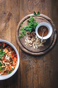 Cumin-Spiked Carrot & Chickpea Salad | Tess (of The Yes Chef) for Top With Cinnamon