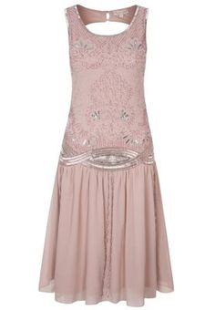 Frock and Frill CLARA - Cocktail dress / Party dress - pink for with free delivery at Zalando 1920s Inspired Dresses, 1920s Fashion Dresses, 1920s Dress, Dresses Uk, Evening Dresses, Prom Dresses, Flapper Dresses, Short Dresses, Vestidos Vintage