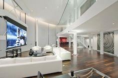 Salón con proyector