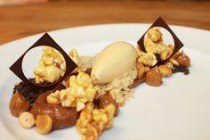 Chocolate Peanut Cremoso, Caramel Popcorn, Candied Peanuts, Dulce de Leche Ice Cream, Chocolate Soil, Shortbread Crumble, Dulce de Leche by Pastry Chef Antonio Bachour, via Flickr