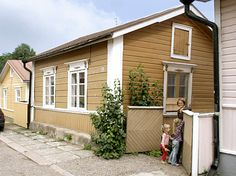 Seamen's house in Loviisa, Finland