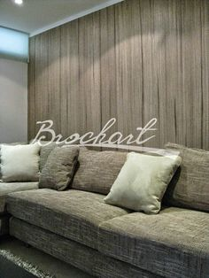 Efecto de pintura  en pared fibra natural .  Wall painting efect . Modern faux finish #wallart
