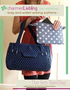 New sewing pattern: The Tech Travel Bag