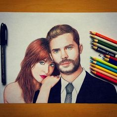 Jamie Dornan  (by Shades_of_Artist) Dakota Johnson & Jamie Dornan  (by Shades_of_Artist) Dakota Johnson  (by Shades_of_Artist) ...