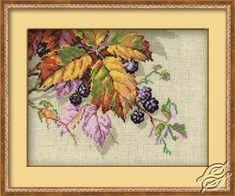 Blackberry - Cross Stitch Kits by RIOLIS - 990