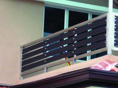 Recent balcony railing crossword only in homestre design